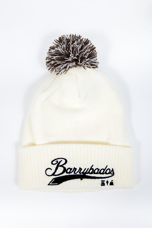 Beanie Hat - Cream White