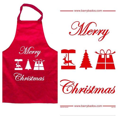 Christmas Apron & Tea Towel