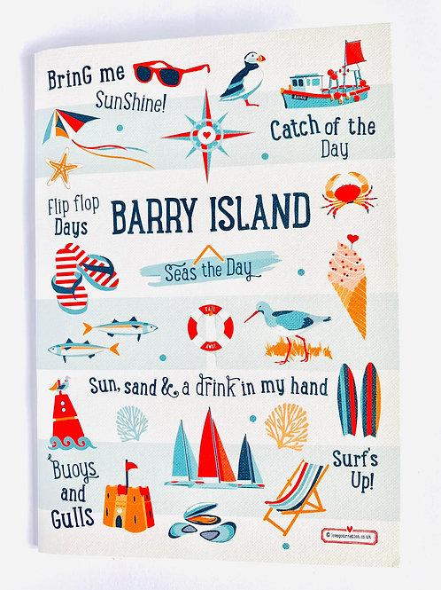 Barry Island Writing Pad