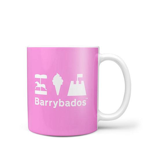 Pink Barrybados Mug