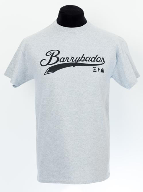 Script T-Shirt - Grey