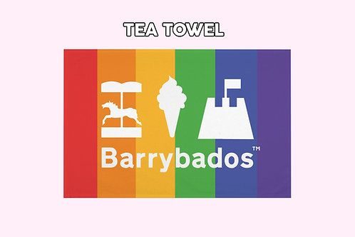 Barrybados Tea Towel