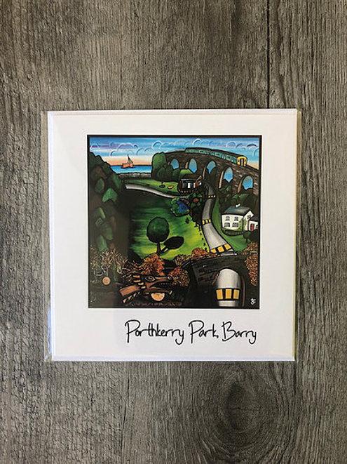 Jenny Lambert - Porthkerry Card