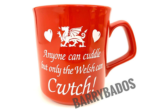 Only The Welsh Can Cwtch Mug