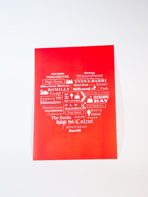 'Home' Wall Print