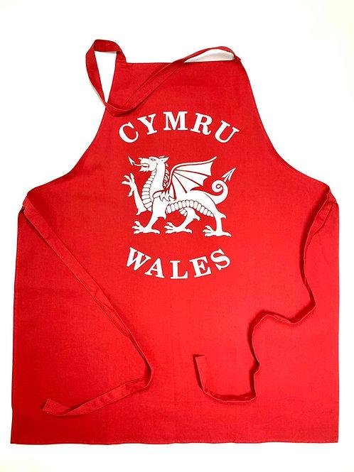 Cymru Wales Apron
