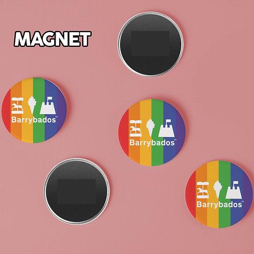 Barrybados Rainbow Magnet