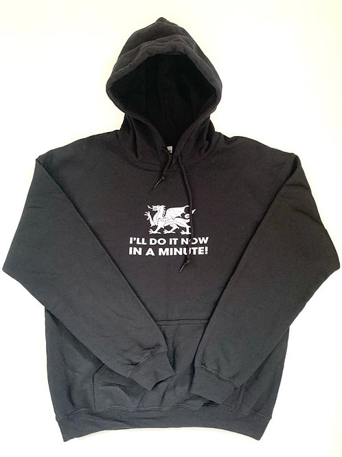 I'll do it now, in a minute Hoodie