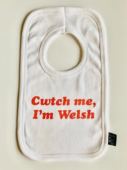 Cwtch Me, I'm Welsh Bib