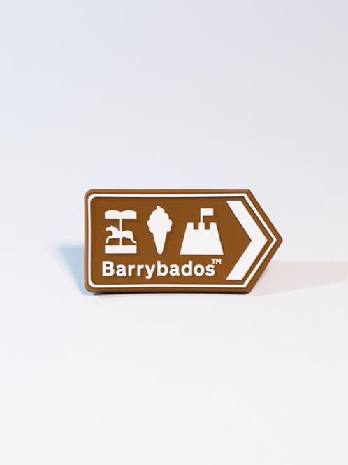 Barrybados Magnet