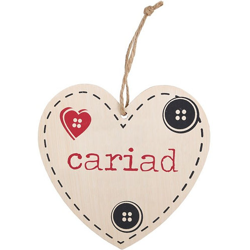 Cariad Heart Sign