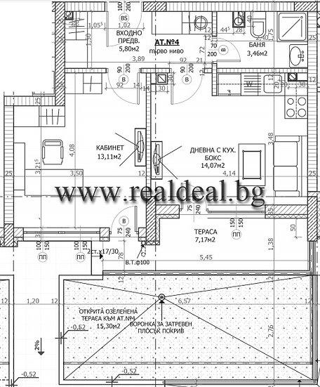 Двустаен апартамент (60м2) за продажба в ж.к. Лагера - RD-1949