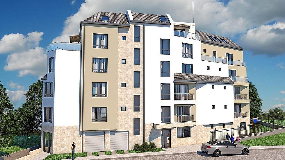 Тристаен апартамент в нова луксозна сграда, кв. Кръстова вада, 97m2
