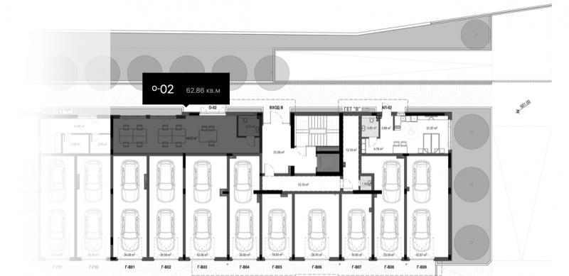 Офис помещение в комплекс, кв. Кръстова вада, 62m2 - RD-1256
