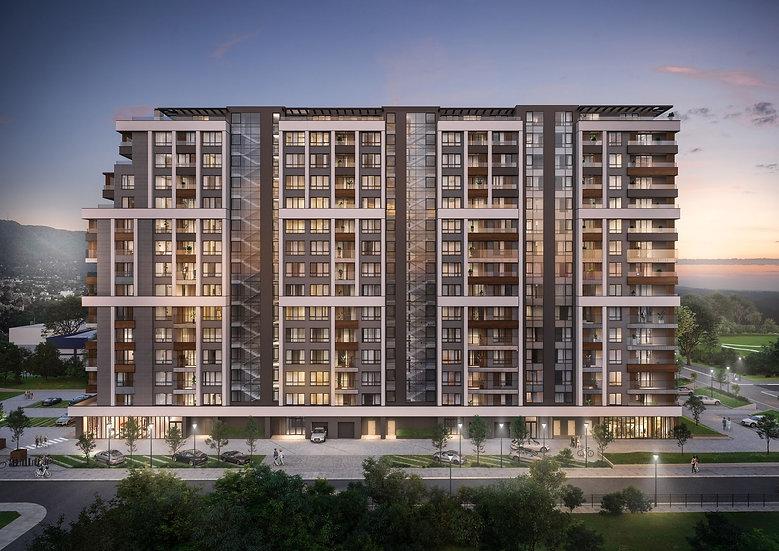 Тристаен апартамент в модерна и съвременна жилищна сграда, Център, 110m2
