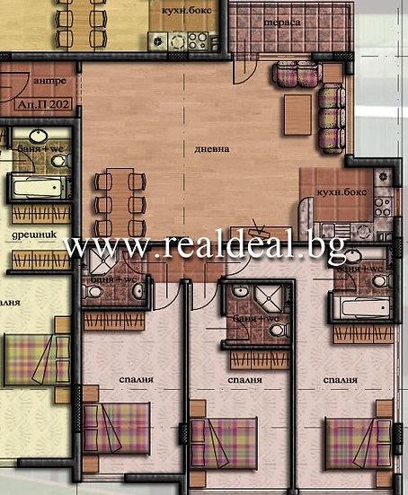 Четиристаен апартамент (150м2) за продажба в Манастирски ливади - RD-1659
