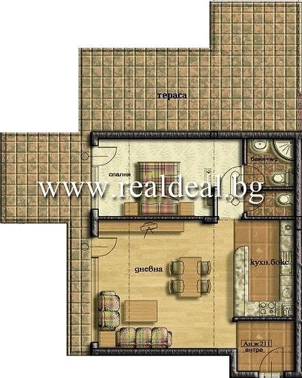 Двустаен апартамент (88м2) за продажба в Манастирски ливади - RD-1657