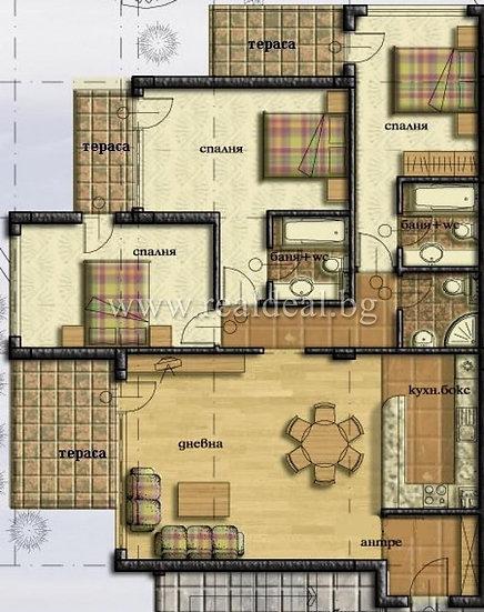 Четиристаен апартамент (155м2) за продажба в Манастирски ливади - RD-1659