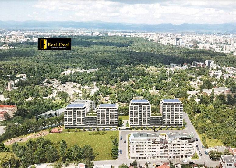 Четиристаен апартамент в уютен комплекс, кв. Кръстова вада, 189m2 - RD-1217