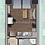 Thumbnail: Едностаен апартамент (33м2) за продажба в Дружба 1 - RD-1920