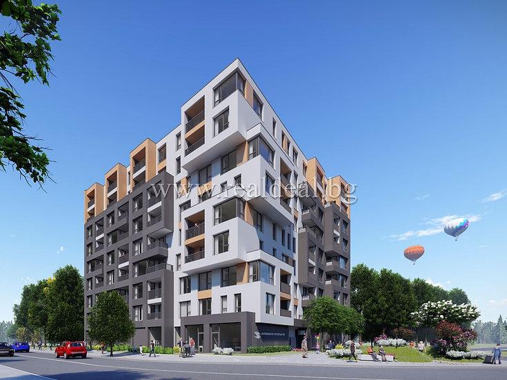 Тристаен апартамент (111м2) за продажба в Сухата река - RD-1529