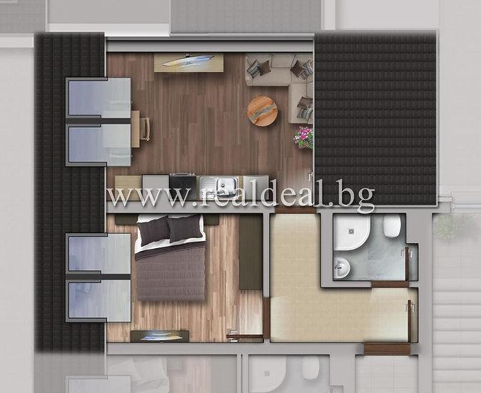 Двустаен апартамент (55м2) за продажба в Люлин 10 - RD-1789