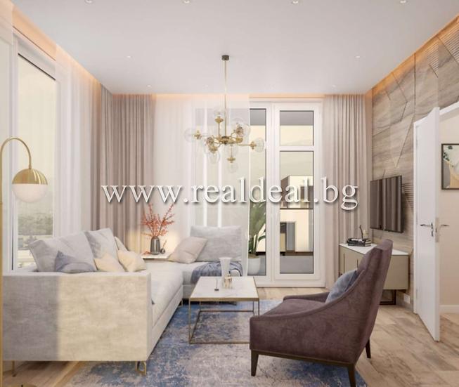 Двустаен апартамент (60м2) за продажба в Дружба 2 - RD-1780
