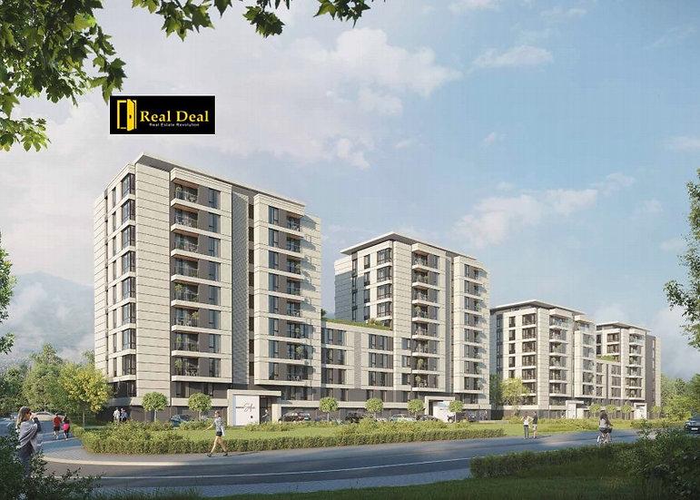 Двустаен апартамент във висококласен комплекс, кв. Кръстова вада, 73m2