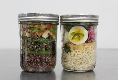 Kimbap & Ramen in a Jar