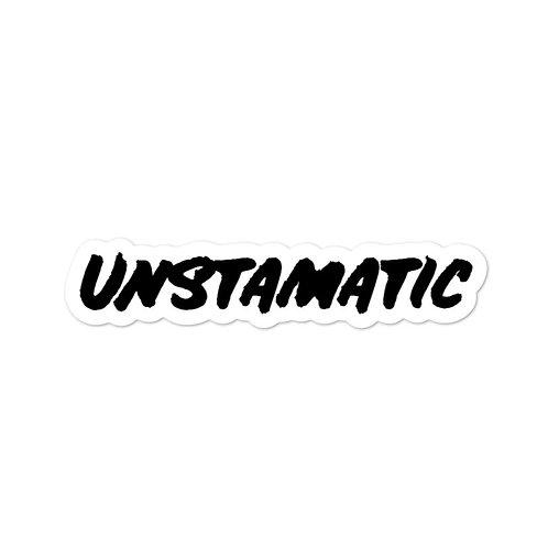 Unstamatic Sticker