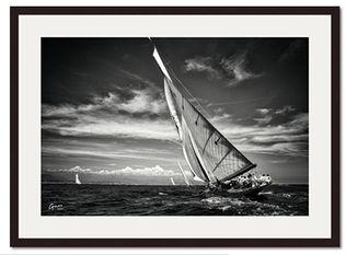 Encadrement photo Les Voiles d'Antibes