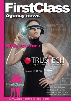 FirstClass au Trustech 18