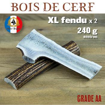 Bdc XL fendu x 2 - 240g