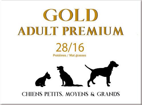 Gold Adult Premium 28/16 - sac 4 kg