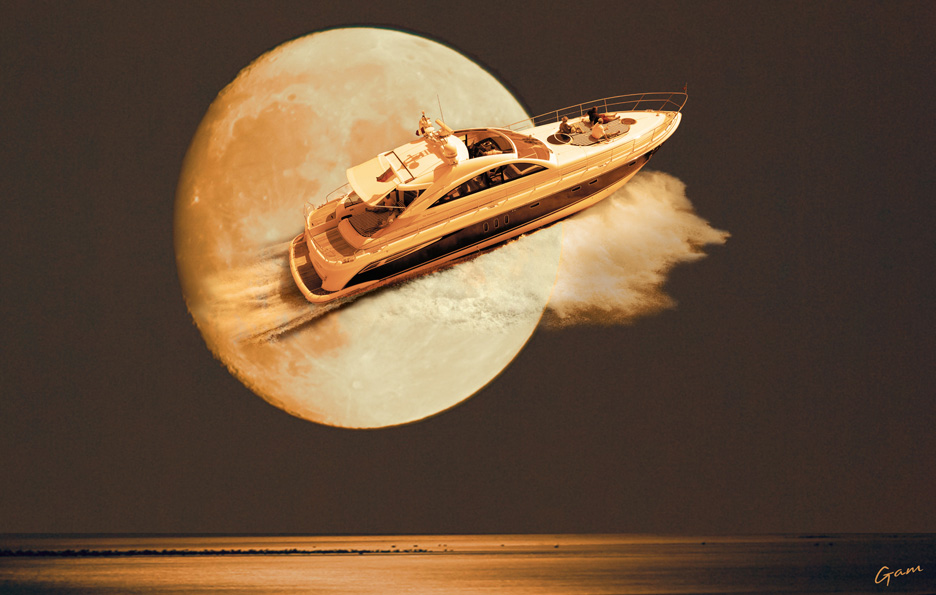 Moonlight cruising