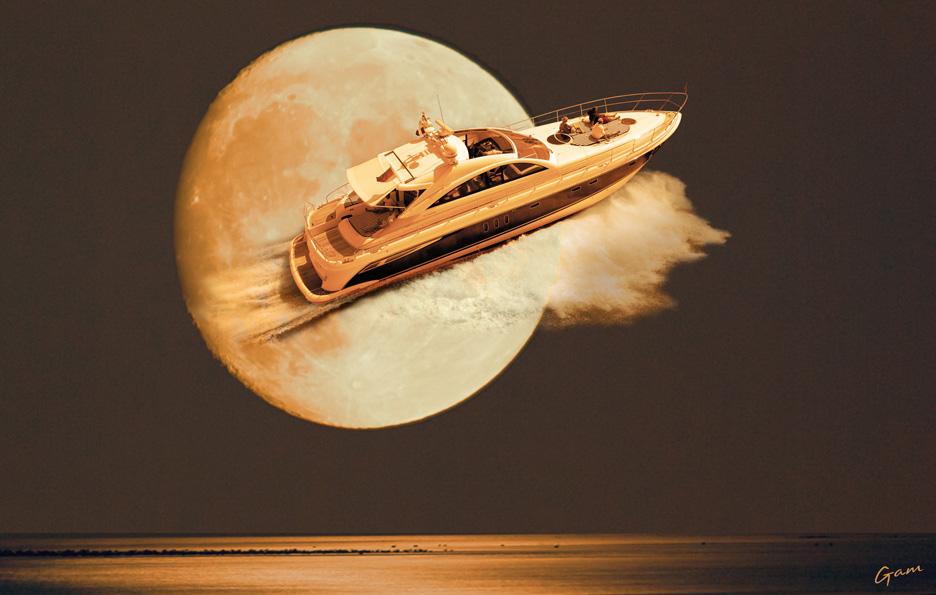 Moonlight cruising