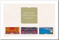 Provence Côte d'azur Events
