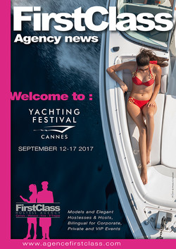 First Class au Cannes Boat Show