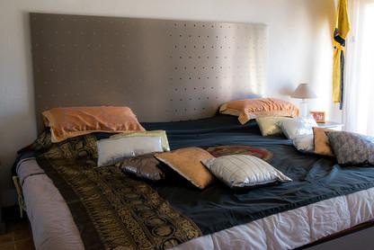 tête de lit décorative inox