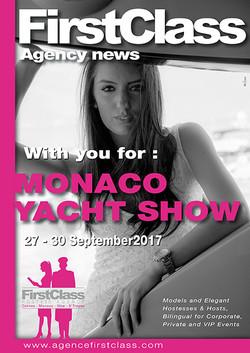First Class Monaco yachtshow