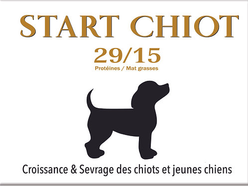 Start Chiot Junior 29/15 - sac 20 kg