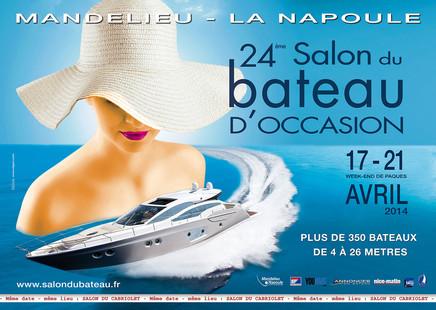 Salon nautique de mandelieu 2014