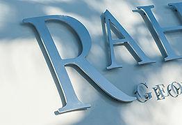 Rodolfe Marine, découpe de lettres pour nom de bateau - rétroéclairé