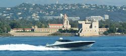 Lerins cruising yacht