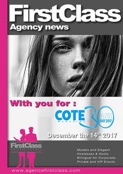 First Class magazine Côte