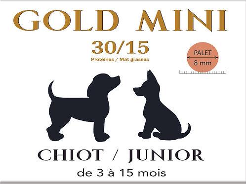 Gold MINI Chiot Junior 30/15 - sac 4 kg
