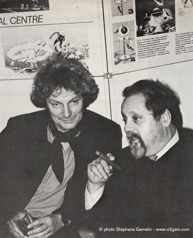 Jacques Rougerie et Alain Bombard