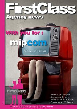 Agence FirstClass au Mipcom 18