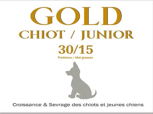 Gold Chiot Junior 30/15 - sac 18 kg