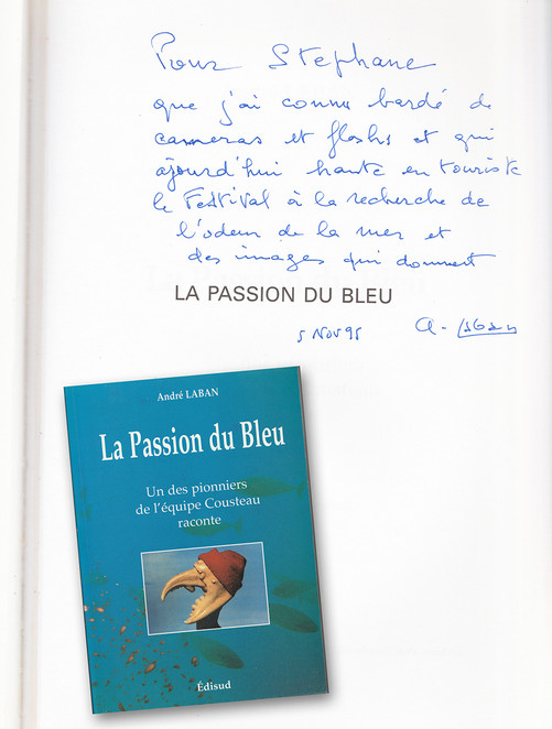dédicace André Laban